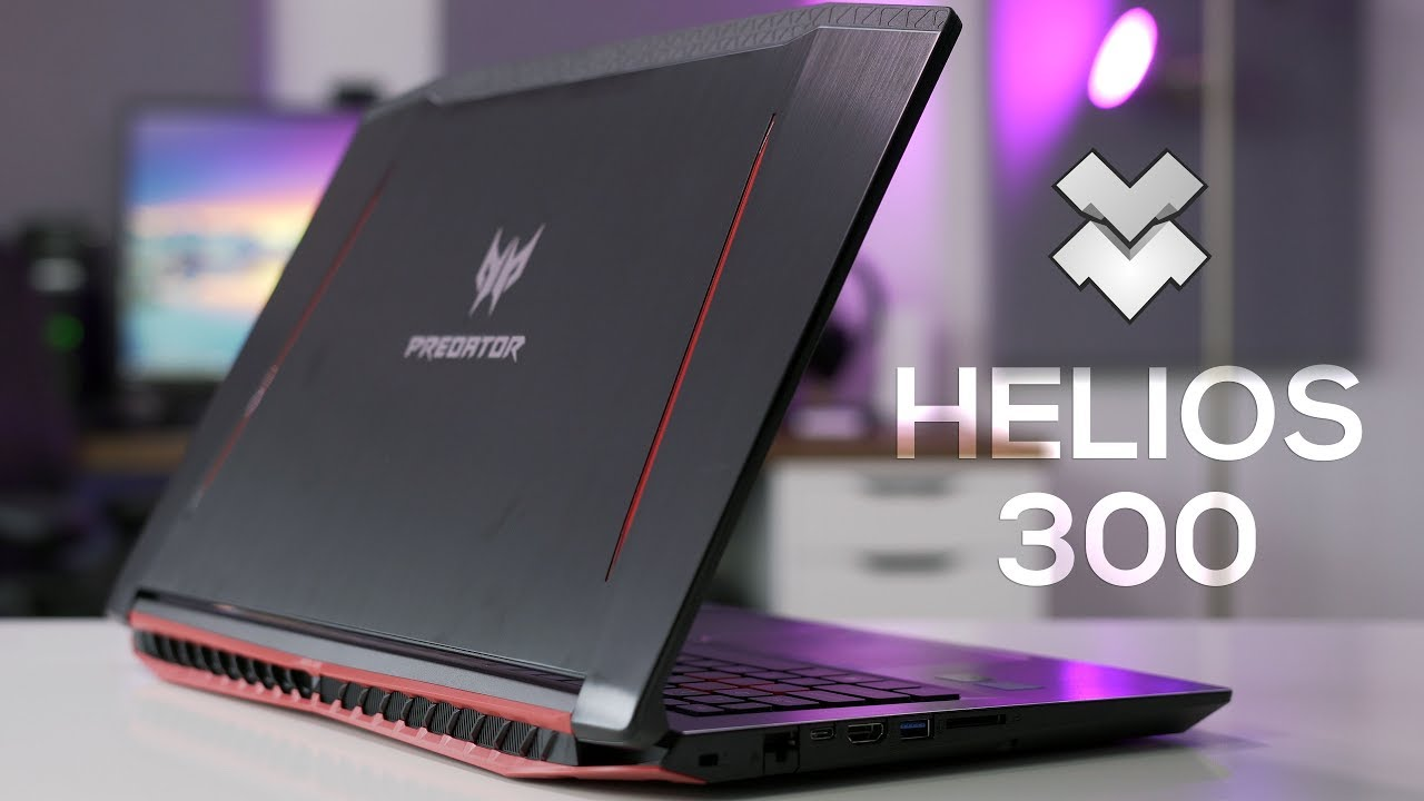 Laptop Acer Predator Helios 300 thách thức mọi tựa game